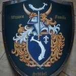 coat of arms knight shield By Gerhard Mounet Lipp