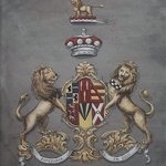 Coat Of Arns Painting Heraldry, Gerhard Mounet Lipp
