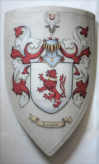 Gerhard Mounet Lipp  'Family Crest Heater Shield', created in 2019, Original Painting Other.