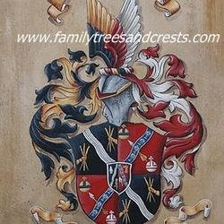 , Family Crests, Coat Of Ar, Home, $551