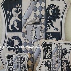 , Family Crest Art, Old Wor, Home, $198
