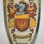 knight shied coat of arms By Gerhard Mounet Lipp