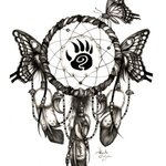 Butterfly Dream Catcher  By Alejandro Jake