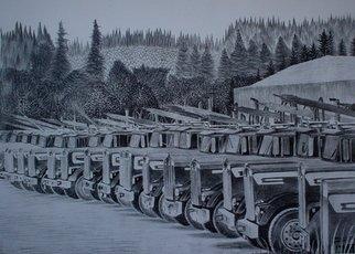Bob Filbey Artwork Terminal, 1989 Lithograph, Transportation