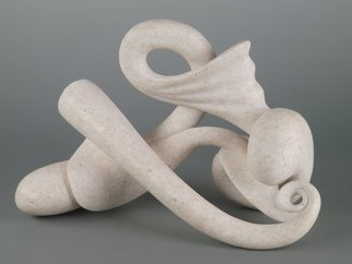 Valter Fingolo Artwork Torsione, 2011 Stone Sculpture, Abstract Figurative