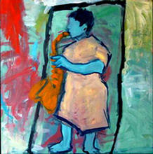 - artwork untitled-1015547670.jpg - 2001, Painting Oil, Figurative