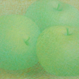green apples By Muntean Floare