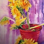 sunflowers By Thinn  Thinn