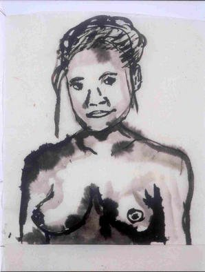 James Melbourne Artwork woman1, 2000 woman1, Figurative