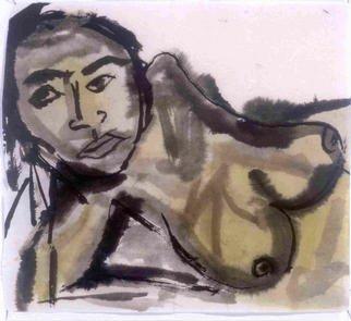 James Melbourne Artwork woman2, 2000 woman2, Figurative
