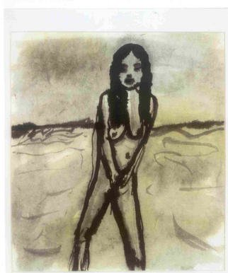 James Melbourne Artwork woman5, 2000 woman5, Figurative