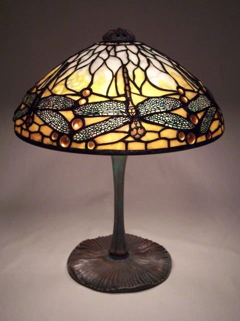Lance Foshe  '14in Dragonfly', created in 2012, Original Glass Stained.