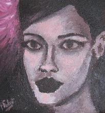 - artwork Rihanna-1360516716.jpg - 2013, Painting Acrylic, Figurative