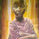 african girl By Franklin Ojoo