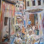 lamu street By Franklin Ojoo