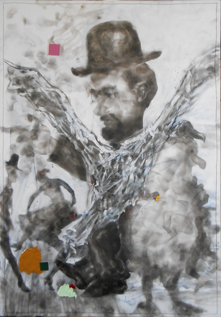 Frans Frengen  'Father Abraham, Henri From Albi And The Albatros', created in 2016, Original Other.