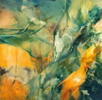 Artist: Franziska Turek, title: firebird, 1998, Painting Other