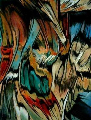 Artist: Franziska Turek - Title: outside - Medium: Other Painting - Year: 2005