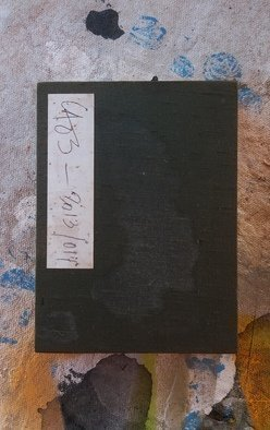 Jose Freitascruz: 'emaki mono folio notebook laos', 2014 Acrylic Painting, Abstract Landscape. Artist Description: japanese folio book with visual notes and poem from Laos, where i lived between 2013 2015...