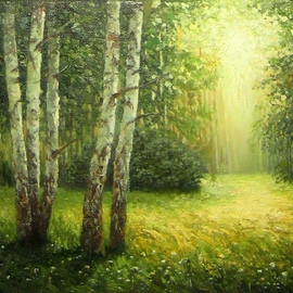 Birch grove By Tatiana Fruleva