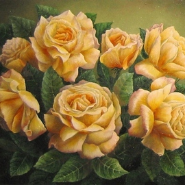 Roses yellow By Tatiana Fruleva