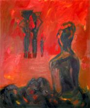 - artwork Red_Africa-1366054517.jpg - 2012, Painting Oil, Figurative