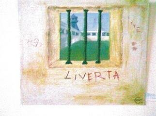 Gabriela Rivas Artwork LIVERTA, 2009 Oil Painting, Activism