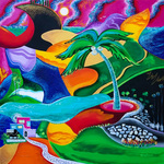 vibrancy of caribbean By Galina Victoria