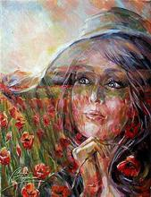 - artwork Field_of_poppies-1366054382.jpg - 2013, Painting Oil, Figurative