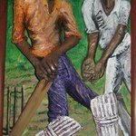 Cricketers By Pegasus Gallery