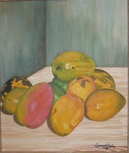- artwork Fruits-1272928233.jpg - 1997, Painting Acrylic, Still Life