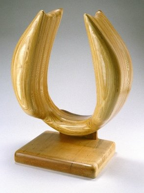Wood Sculpture by Gary Brown titled: Yoke, 2004