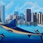 Miami Marlins By Gary Boswell