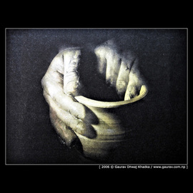 Gaurav Dhwaj Khadka: 'Potters hands ', 2006 Other Photography, Inspirational. Artist Description:  The