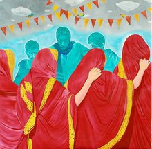- artwork festival_of_boady-1235913507.jpg - 2008, Painting Acrylic, Figurative