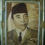 PAINTING proklamator Indonesia Mr Ir Soekarno  By Gaya Wijaya