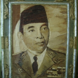 Gaya Wijaya Artwork PAINTING proklamator Indonesia Mr Ir Soekarno , 2016 Mixed Media, Animals