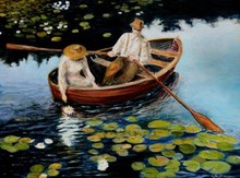 - artwork Picking_waterlillies-1250755500.jpg - 2009, Painting Oil, Figurative