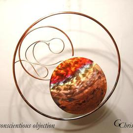 Gary Chris Christopherson Artwork conscientious objection, 2007 Other Sculpture, Abstract