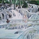 The Famous Dunns River By Geary Jones