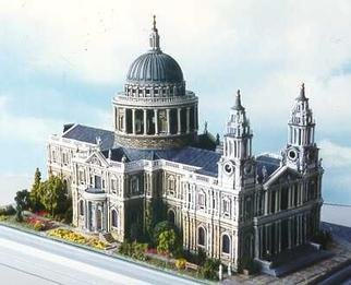 by Gene Gill titled: St Pauls London, created in 1997