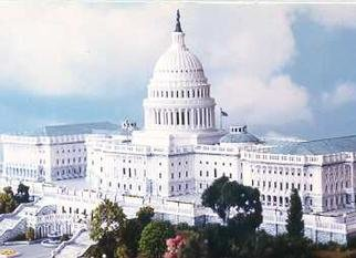 Gene Gill  'US Capitol Building', created in 1996, Original other.