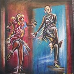 drum beat dance By George Mulaudzi