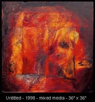 George Oommen: 'untitled', 1998 Mixed Media, Abstract.