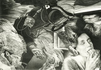 Geo Sipp: 'Absolution', 2011 Pencil Drawing, Surrealism.   Absolution is a graphite drawing.                      ...