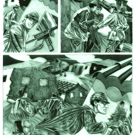 Geo Sipp Artwork Page 1, 2012 Other Drawing, Military