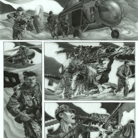 Geo Sipp Artwork Page 2, 2012 Other Drawing, Military