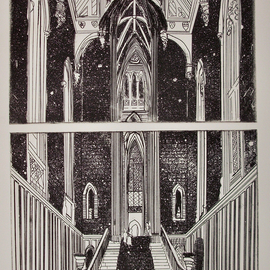 A DREAM DIVIDED AT FONTHILL ABBEY   By Jerry  Di Falco