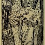 Angel Tomb in New Orleans Black Edition By Jerry  Di Falco