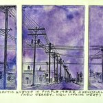 Atlantic Avenue In Purple Haze 1965, Jerry  Di Falco